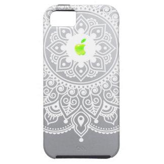 Appleの曼荼羅の緑 iPhone SE/5/5s ケース