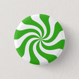 Appleの渦巻キャンデー 3.2cm 丸型バッジ
