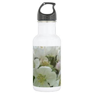 Appleの白い花 ウォーターボトル