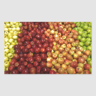 Appleの立場 長方形シール