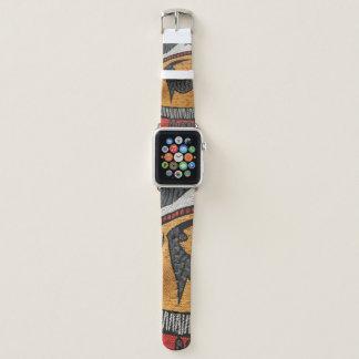 Appleの腕時計のためのアフリカの生地の時計バンド Apple Watchバンド