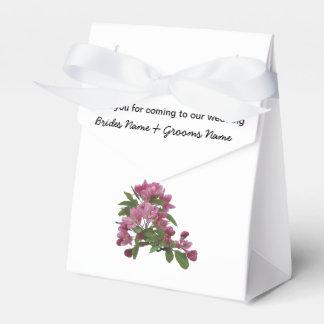 Appleの花の結婚式の記念品の記念品のサービス品 フェイバーボックス
