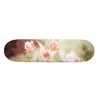 Appleの花 18.7cm ミニスケートボードデッキ
