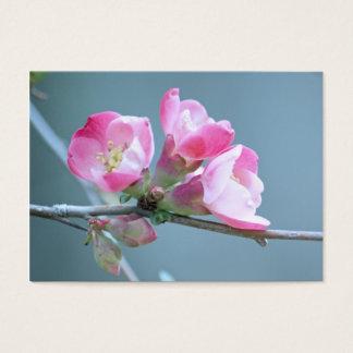 Appleの花#P0358の小型プリント 名刺