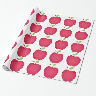 Appleの赤い先生 ラッピングペーパー