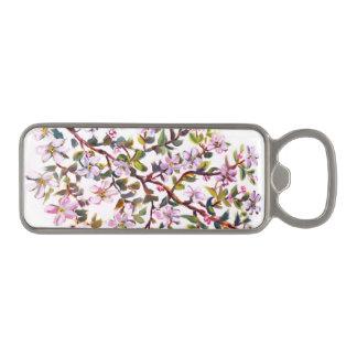 Appleの陽気な花はアクリルの絵画咲きます マグネット栓抜き