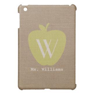 Appleの黄色いバーラップの刺激を受けたな点のiPad Miniケース iPad Miniカバー