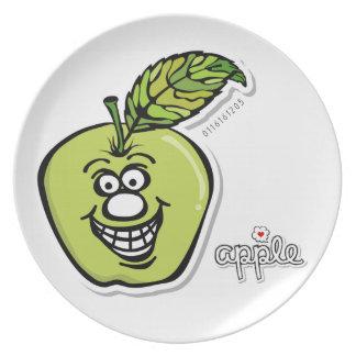 Appleの*Melamineのプレート プレート