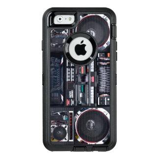 AppleのiPhoneのBoomboxのカワウソの例 オッターボックスディフェンダーiPhoneケース