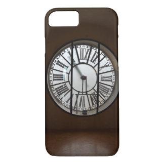 AppleのiPhone 7カバー-時間はヴィンテージの時計によって行きます iPhone 8/7ケース