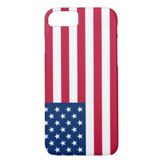 AppleのiPhone 7米国の旗のデザインの携帯電話の袖 iPhone 8/7ケース