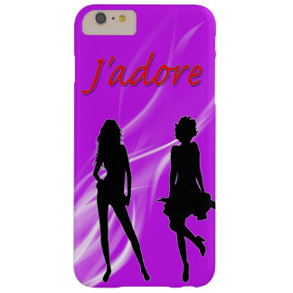 AppleのiPhone J'adore Barely There iPhone 6 Plus ケース