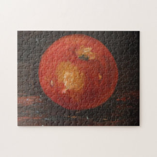 Appleを絵を描いているパズルアンヘイェズ ジグソーパズル