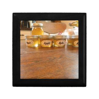 Appleゼリーの缶詰になる写真撮影 ギフトボックス