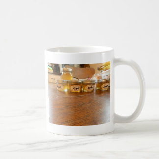 Appleゼリーの缶詰になる写真撮影 コーヒーマグカップ