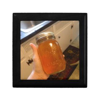 Appleゼリーの缶詰になる瓶 ギフトボックス