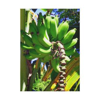 Appleバナナ キャンバスプリント