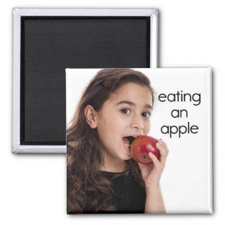 Apple冷却装置磁石を食べること マグネット