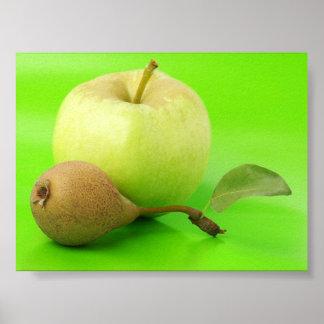 Apple及びナシ ポスター