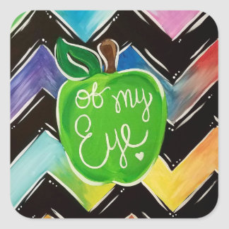 Apple of My Eye Stickers スクエアシール