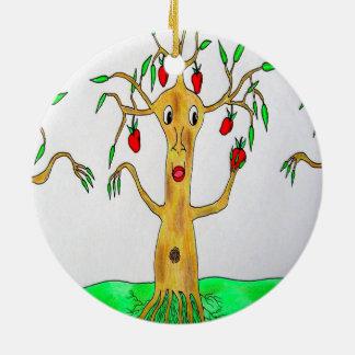 Appletree Christmas Ornament氏 セラミックオーナメント