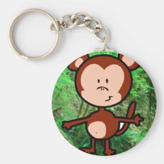 Appsの中間の数学7 Keychainの猿 キーホルダー