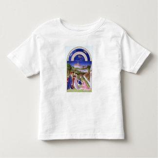 AprilのFascimile トドラーTシャツ