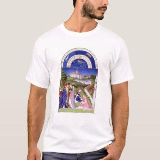 AprilのFascimile Tシャツ