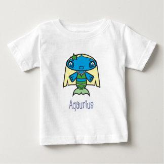 Aqauriusの幼児Tシャツ ベビーTシャツ