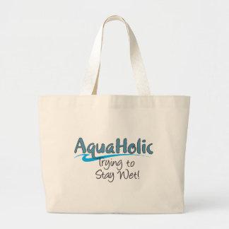 AquaHolicのジャンボトート ラージトートバッグ