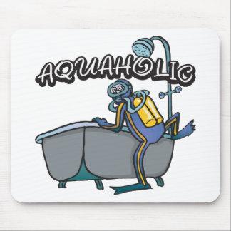 Aquaholicのスキューバ マウスパッド