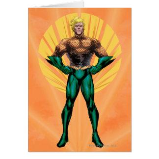 Aquamanの地位 グリーティングカード