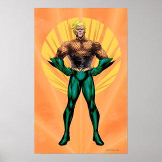Aquamanの地位 ポスター