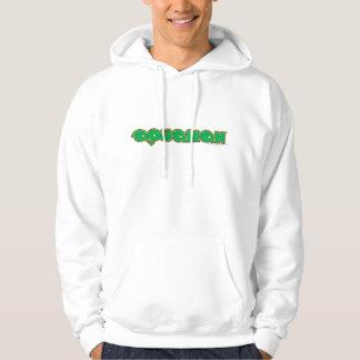 Aquamanの緑のロゴ パーカ