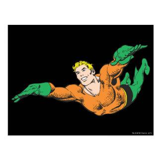 Aquamanは上昇します 葉書き