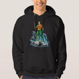 Aquamanは干し草用フォークによって立ちます パーカ