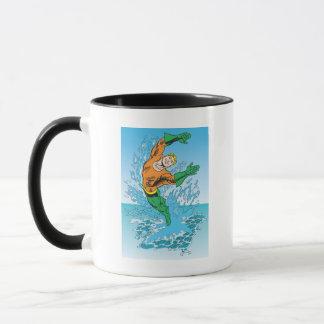Aquamanは海の素早く書き留めます マグカップ