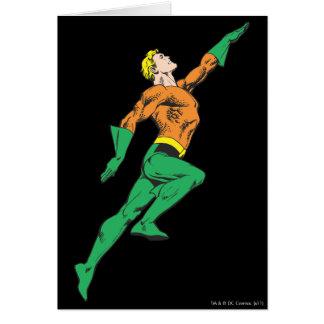 Aquamanは跳躍します カード