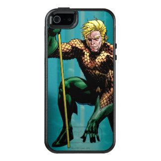 Aquaman身をかがめる2 オッターボックスiPhone SE/5/5s ケース