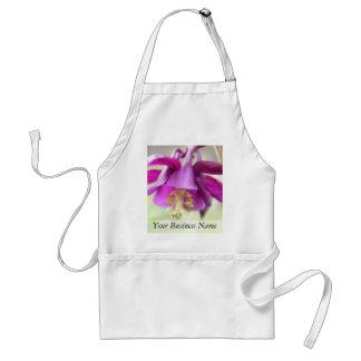 (Aquilegiaの)濃紫色の鳩の花びら スタンダードエプロン