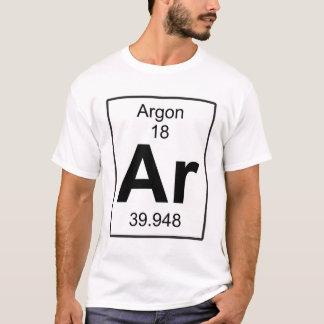 Ar -アルゴン tシャツ
