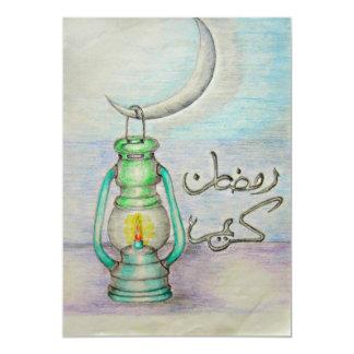 arabikcのランタン、ラマダーン日 カード
