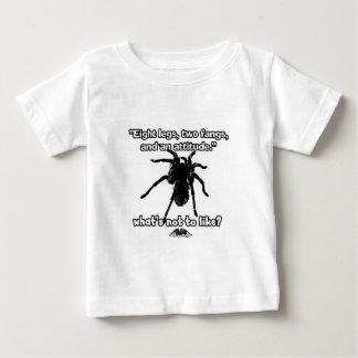 Arachnophobia -タランチュラの芸術のデザイン#16 ベビーTシャツ