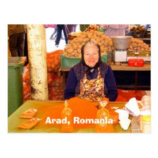 Arad、ルーマニア ポストカード