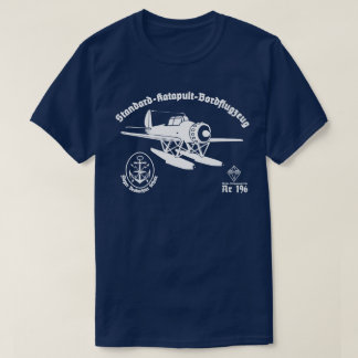 Arado 196の水上飛行機 tシャツ