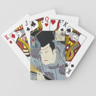 Arashi Rikan IIIの日本人のWoodblockのプリント トランプ