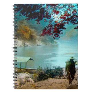 ARASHIYAMA TAKAGIのガラス幻灯のスライド ノートブック