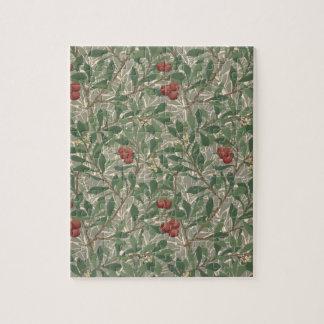 「Arbutus」の壁紙はキャサリーンのカージー織foによって設計しました ジグソーパズル