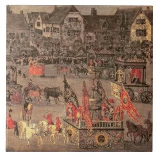 Archduchessイザベラ(1556-1633年の勝利 タイル