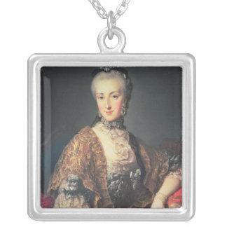 ArchduchessマリアアナハプスブルクLothringen シルバープレートネックレス